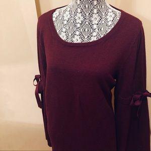 MAX STUDIO KNIT SHIFT DRESS